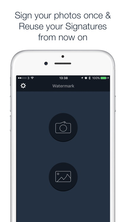 Watermark - Sign your photos