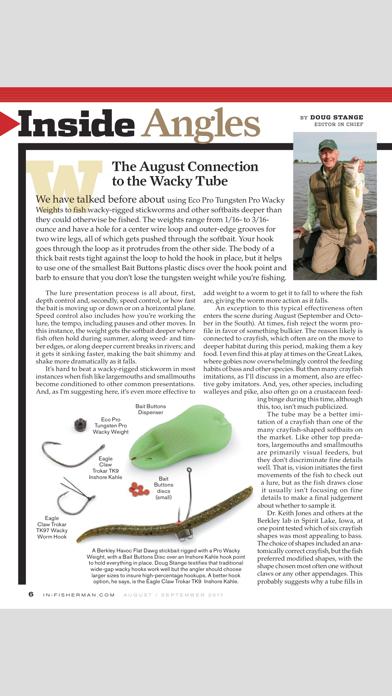 In-Fisherman Magazine Screenshot