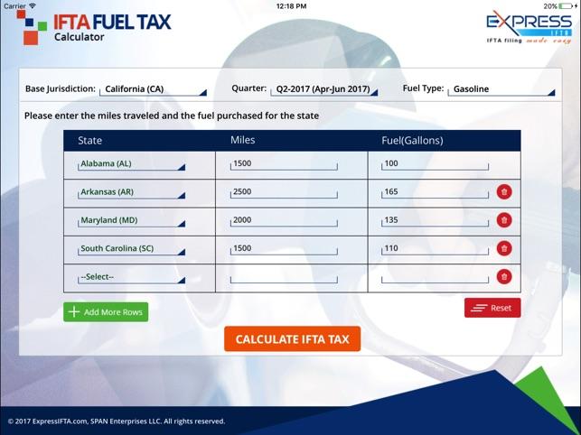 free ifta mileage calculator