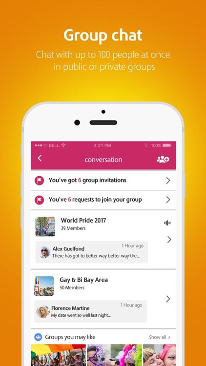 Moovz: The LGBT social network screenshot-5