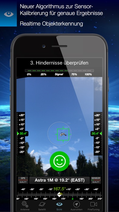 Screenshot for SatFinder in Germany App Store