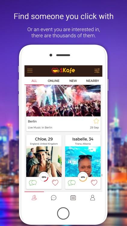 1Kafe - Albanian Dating
