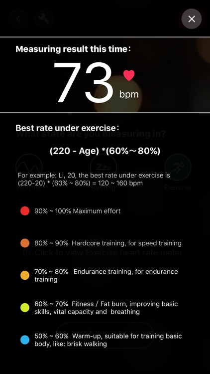 Heart Rate Monitor - Pulse BPM screenshot-3