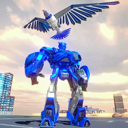 American Eagle Robot Fighting by Shahzada Maqbool