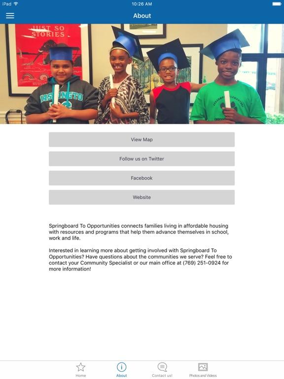 Springboard to Opportunities screenshot 5
