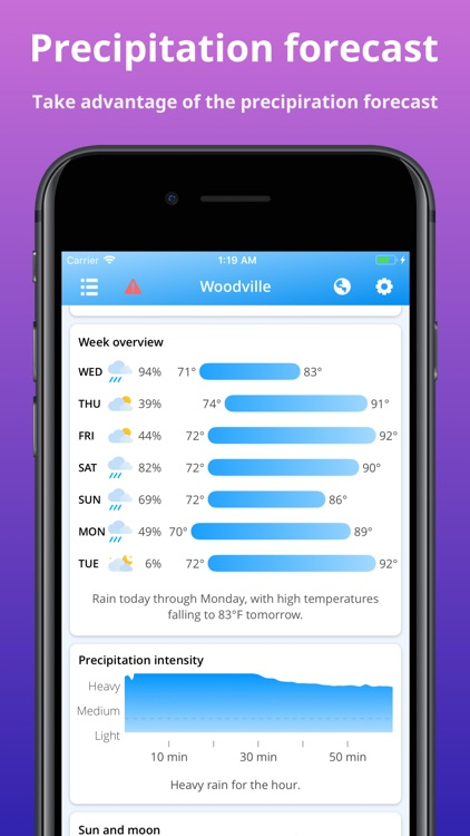 Cloudy - Weather Forecast screenshot-3