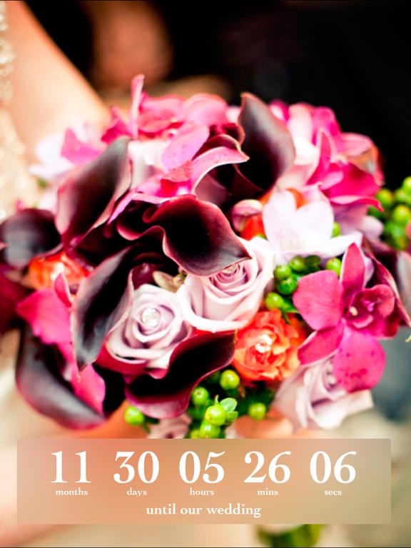 Wedding Countdown screenshot