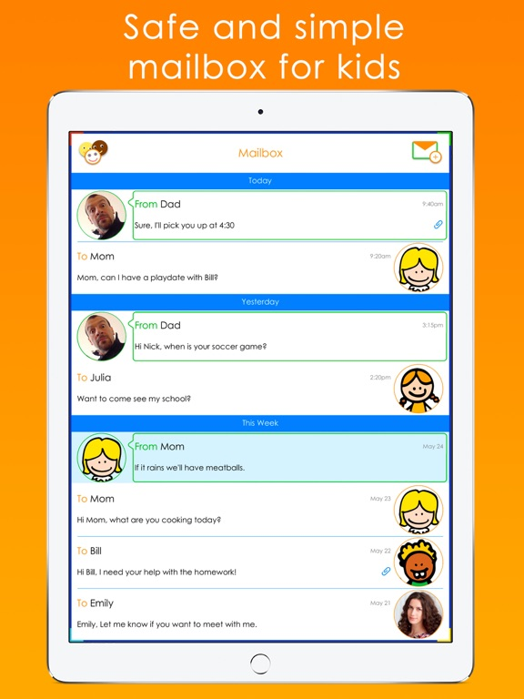 Tocomail - Email for Kids | App Price Drops