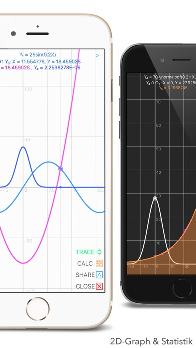 Screenshot for Graphing Calculator Plus in Germany App Store