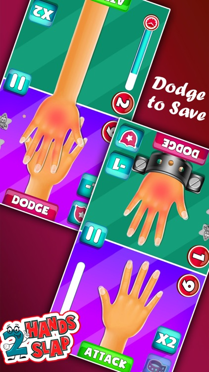 Red Hand Slap Two Player Games screenshot-3