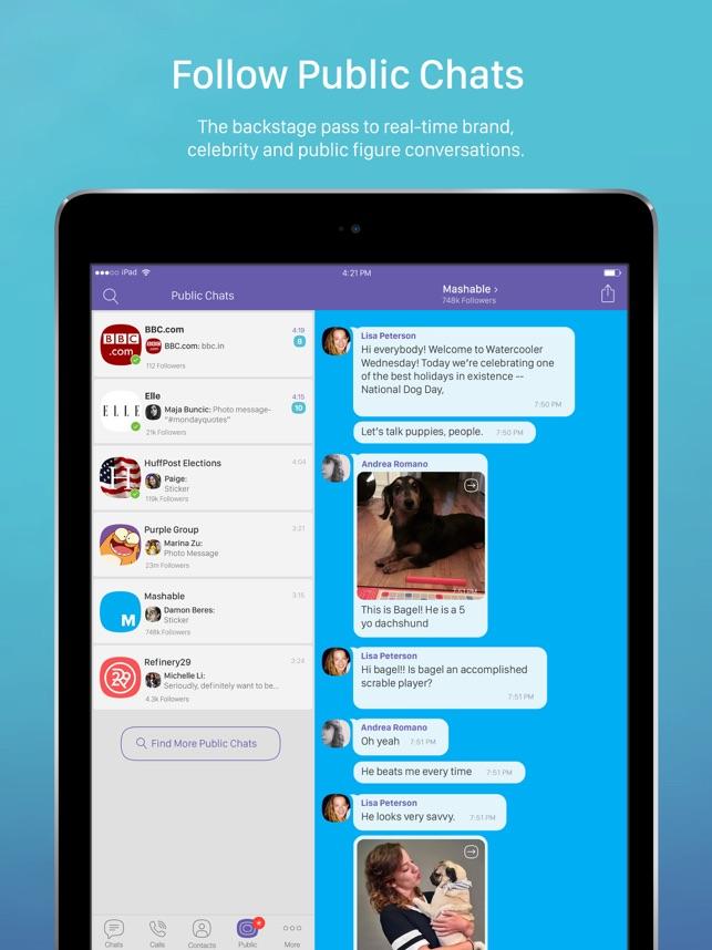 Viber Messenger & Video Chats Screenshot