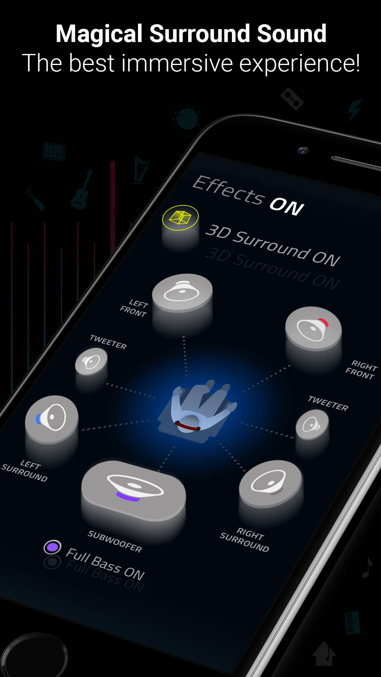 Boom: Music Player & Equalizer Screenshot