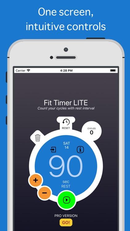 Fit Timer LITE screenshot-0