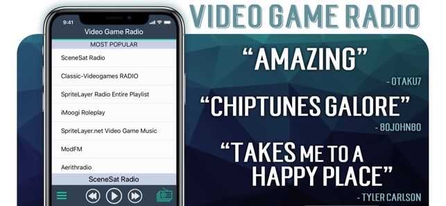 Video Game Radio on the App Store