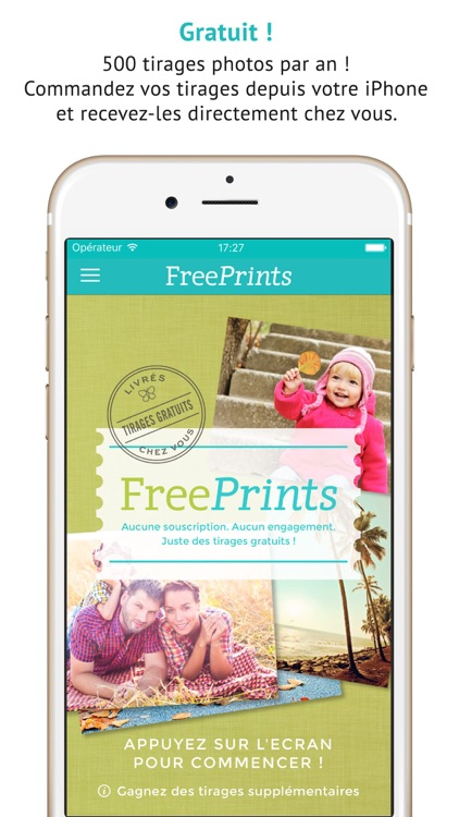 FreePrints - Photos gratuites
