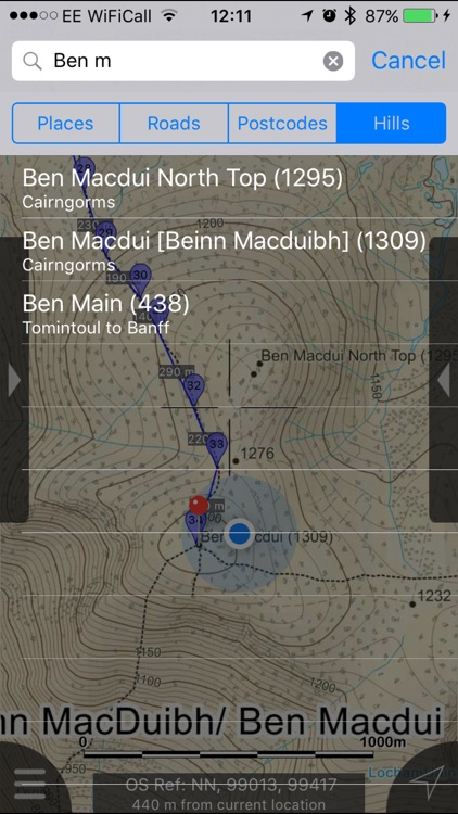 Cairngorms Maps Offline screenshot-4
