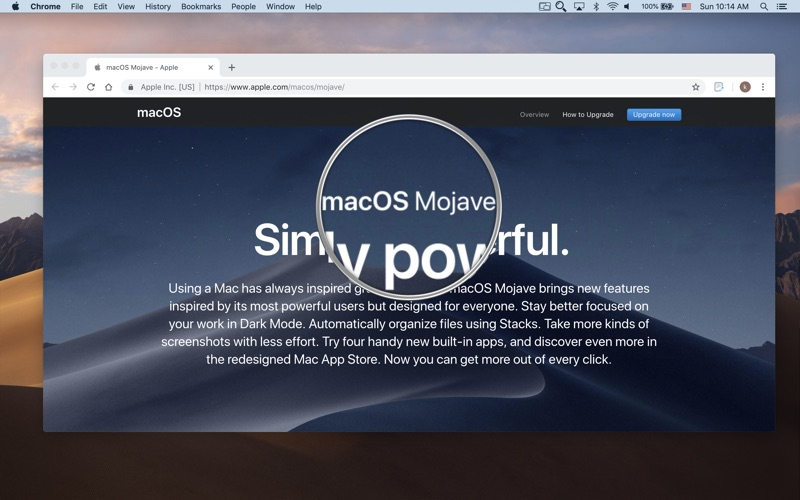 Zoom Me - Desktop Magnifier скриншот программы 1