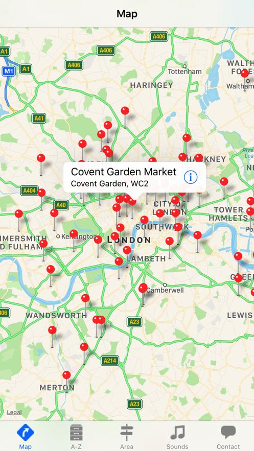 London Market Guide App 截图