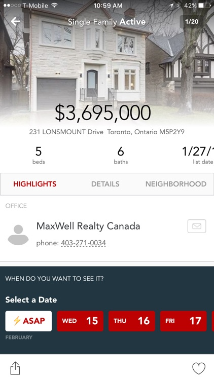 MaxWell Realty Home Search