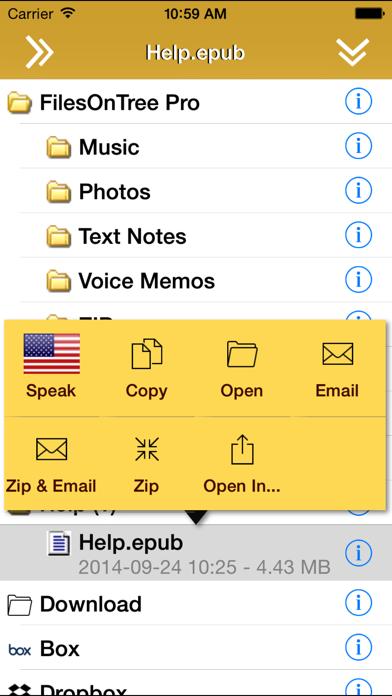Screenshot #2 pour FilesOnTree - Tree File Explorer