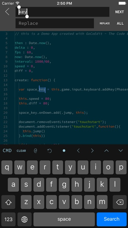 GoCoEdit - Code & Text Editor