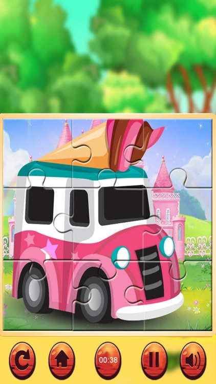 Vehicle Jigsaw Puzzle screenshot-3