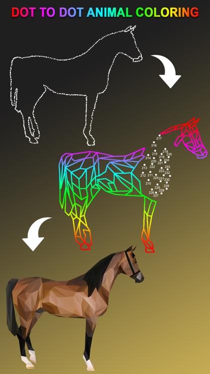Dot To Dot To Animal Coloring