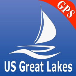 US Great Lakes Nautical Chart