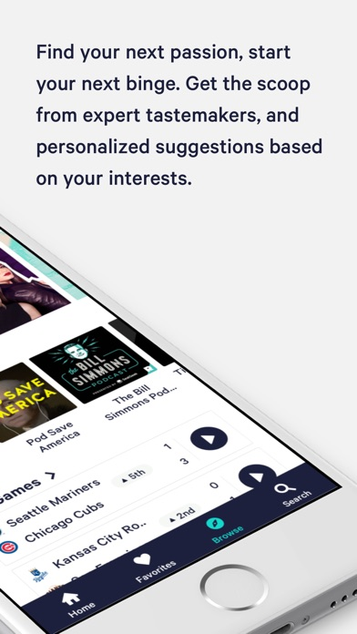 TuneIn: NFL, Radio & Podcasts for Windows