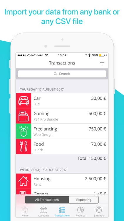 MoneyCoach Plus - Expense Tracker, Bill Manager screenshot-3