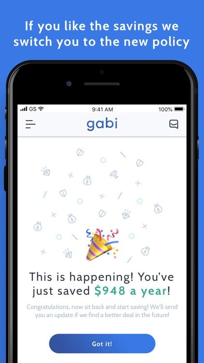 Gabi - Home & Car Insurance screenshot-4