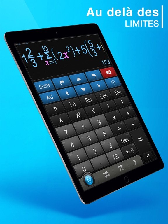 Screenshot #4 pour Calculator ∞ - Calculatrice