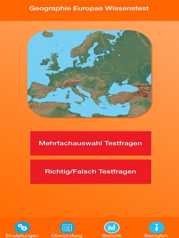 Geographie Europas Quiz screenshot 6