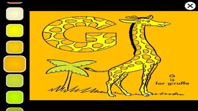 Learn ABC Animal Coloring Book screenshot three
