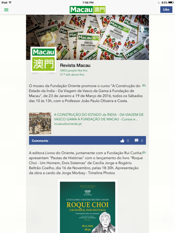 Revista Macau - náhled