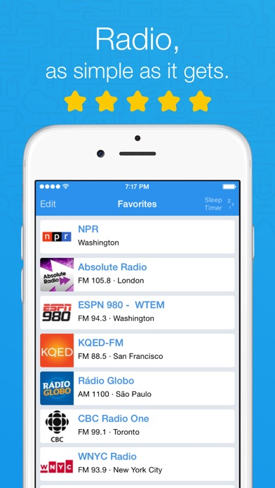Simple Radio - Live AM/FM app image