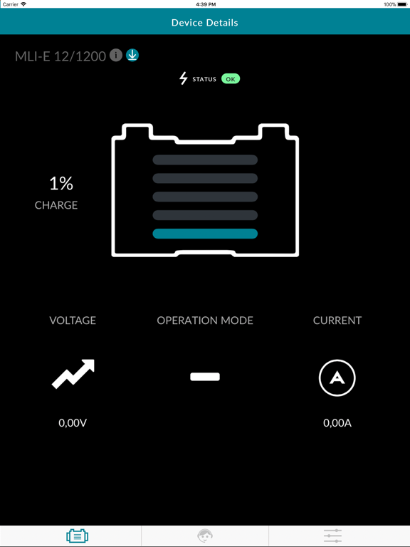Ipad Screen Shot Mastervolt Battery Monitor 2