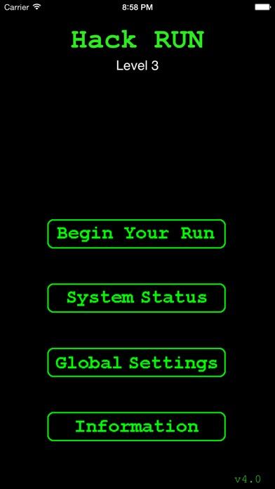 Hack RUN Screenshots
