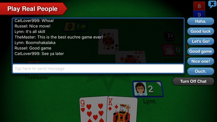 Euchre 3D screenshot-4