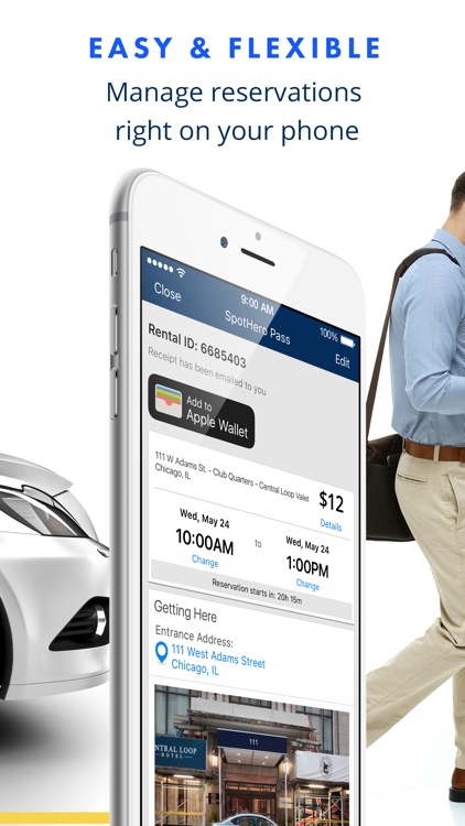 SpotHero - Find Parking Nearby screenshot-3