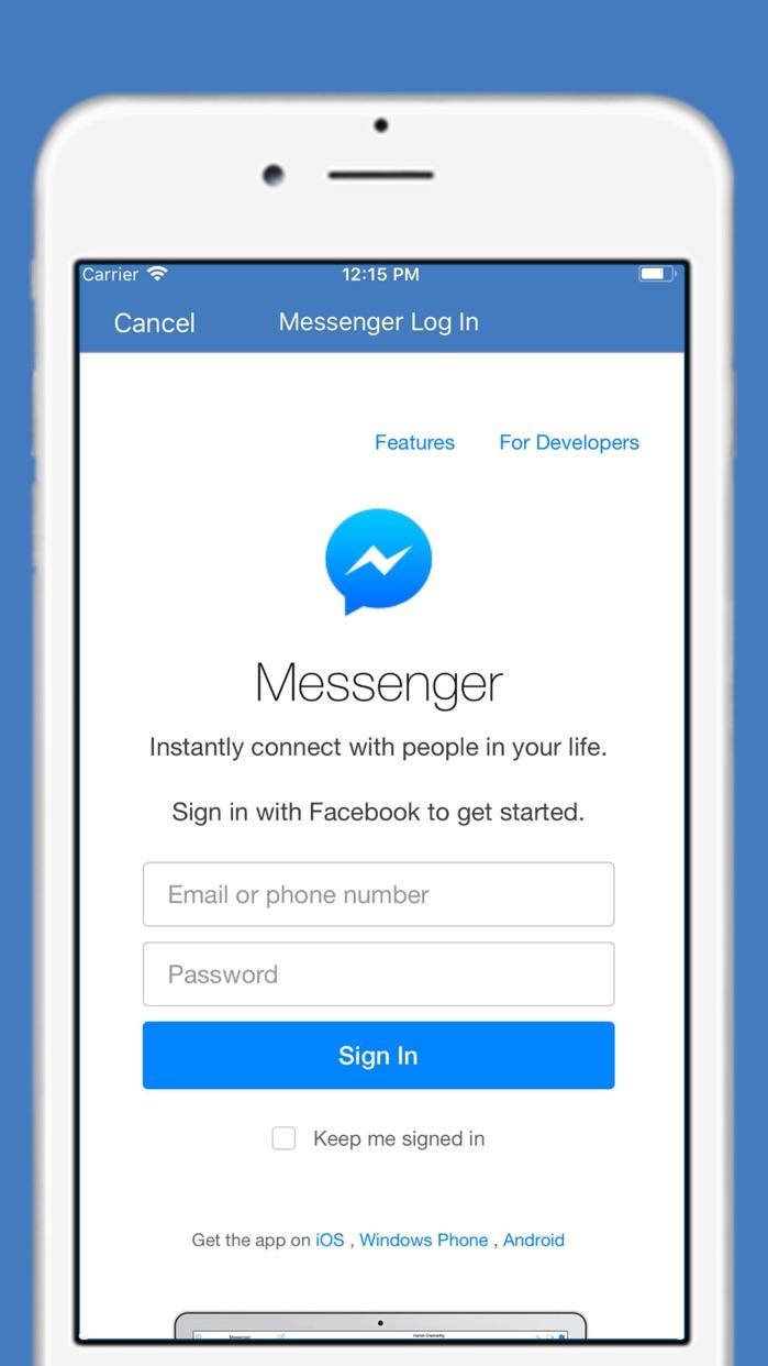 WatchChat for FB Messenger Screenshot