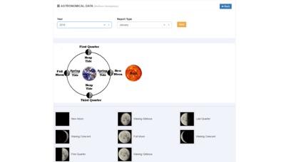 Moon Phases U.S.A. Screenshot