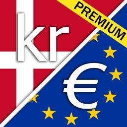 Danish krone Euro premium