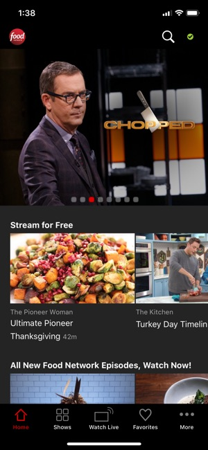 Food network on the app store screenshots forumfinder Gallery