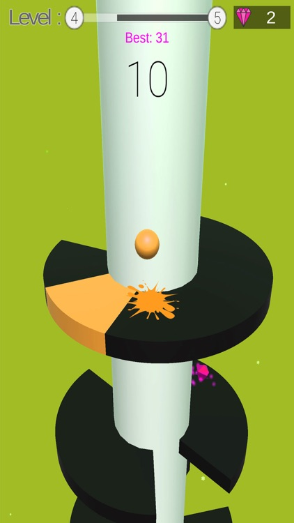 Ball Helix Jumping Game 3D screenshot-3
