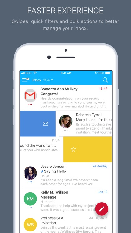 Mail2World screenshot-3