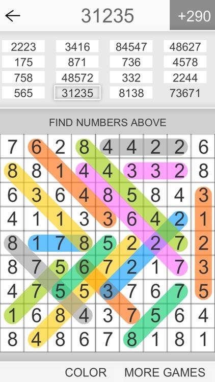 Hidden Numbers Math Game screenshot-3