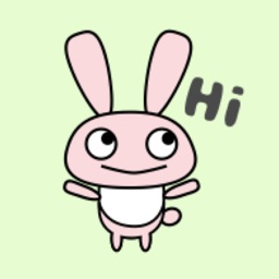 Cute Rabbit Kawaii emoji