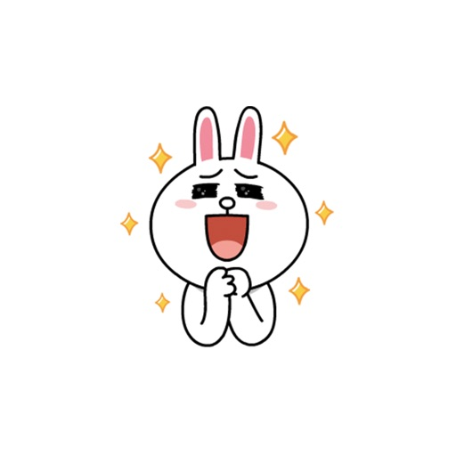 Cute Bunny Sticker