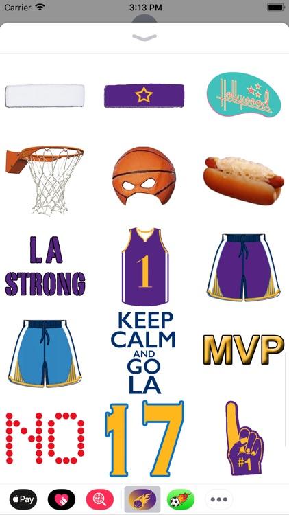 Los Angeles Basketball Pack screenshot-4